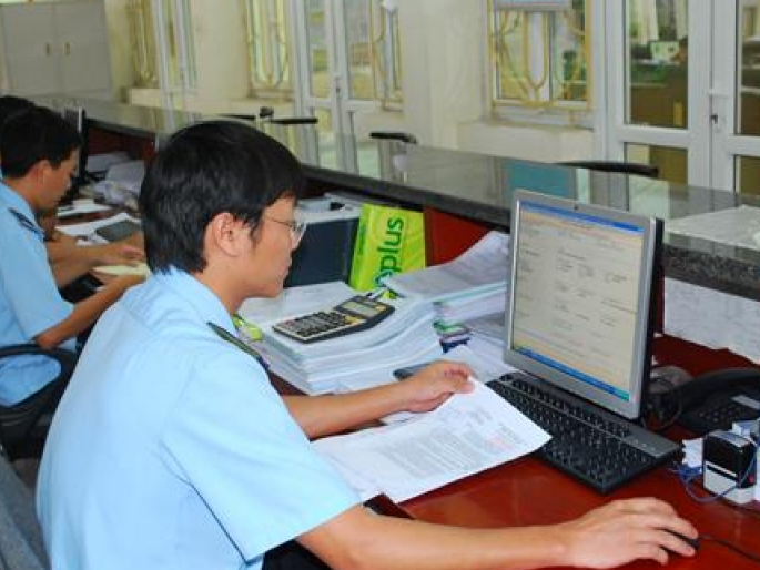 information about electronic customs declarations shared