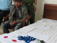 ha tinh customs cleared the case of transport of 2198 pink methamphetamine pills