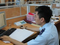 hai phong customs high efficiency in tax debt collection