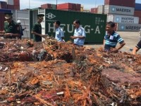 motorbike taxi driver or beef noodle sellers named as illegal exporters of more than 20 containers of copper scraps