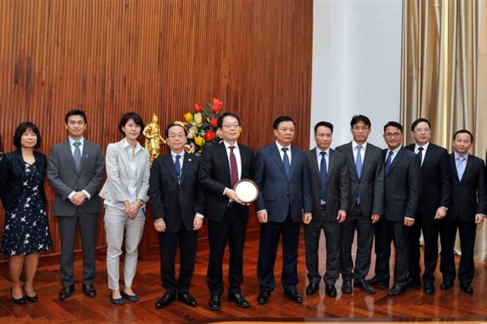 ministry of finance expects to closely cooperate with jica