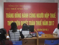 50 of the dossiers required to be settled is hanoi tax department overloaded