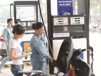seal stamp on gasoline and petroleum to prevent loss of revenues