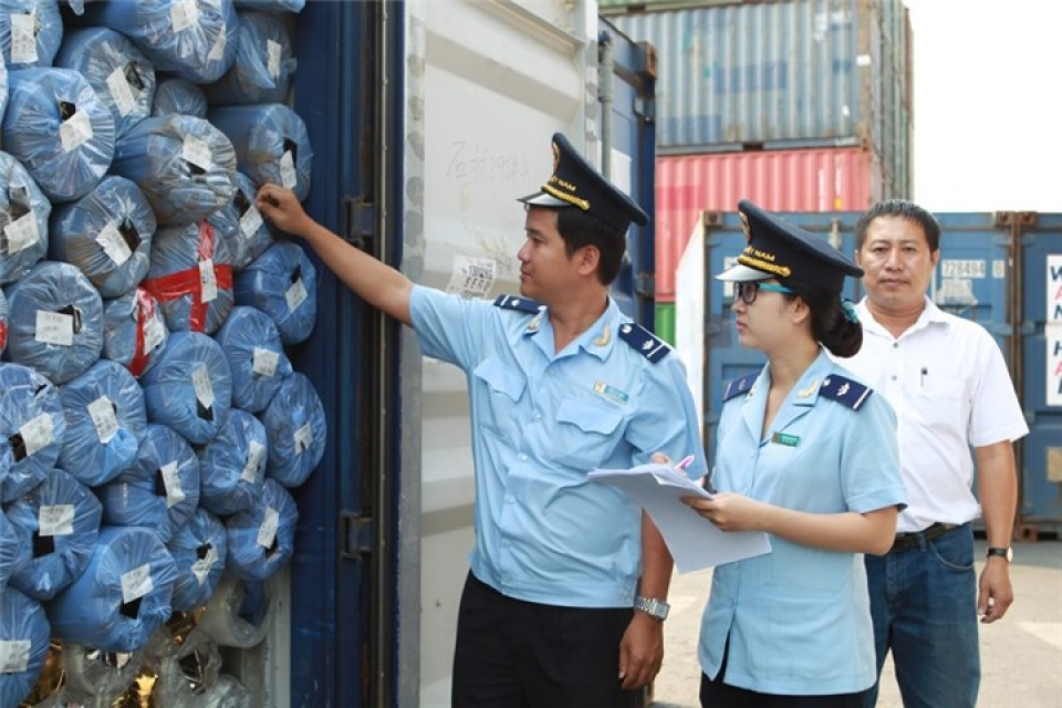 standardizing the quality inspection process of import and export goods