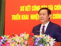 deputy prime minister vuong dinh hue expenditures will be cut based on insufficient revenues