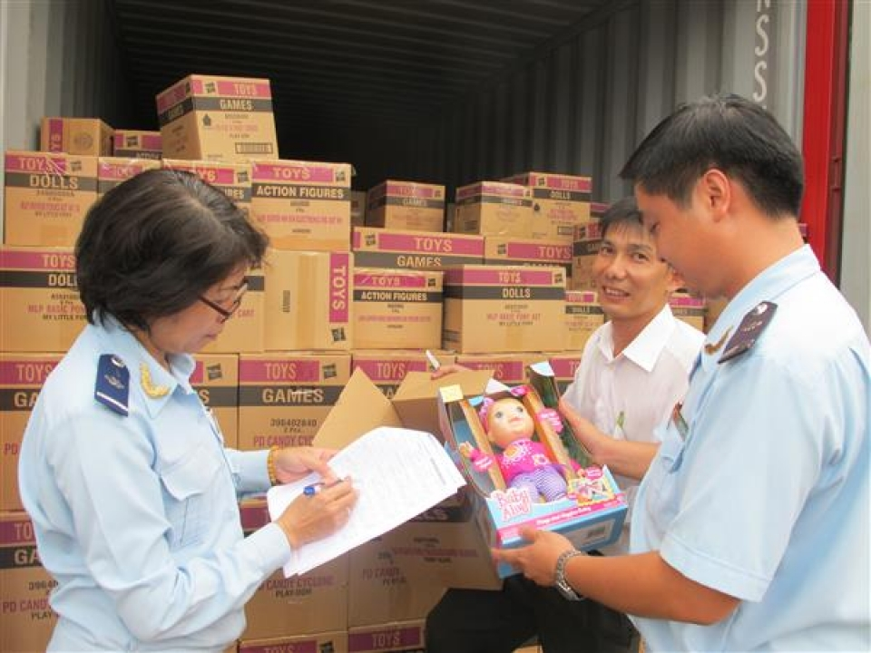 many shipments of toys and games for children re exported