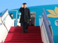 china rolls out the red carpet for party general secretary trong