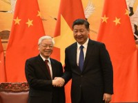 china welcomes party leader nguyen phu trong with 21 gun salute