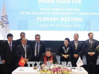 ha noi declaration passed at appf 26 closing session