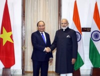 vietnamese indian prime ministers hold talks