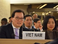 vietnam attends un human rights councils 37th session