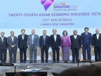 asean economic ministers meet in singapore