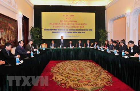 party government na foreign affairs bodies forge stronger ties