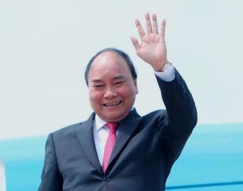 pm nguyen xuan phuc leaves for visits to new zealand australia