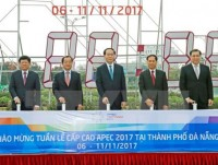 president inspects apec summit preparations in da nang