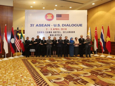asean us hold 31st dialogue in malaysia