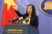 vietnam condemns chinas illegal activities in hoang sa truong sa