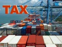 amendment of the law on export tax and import tax amending the regulation on imposing import tax on goods on the spot