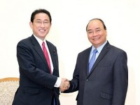 japan regarded as vietnams leading important and long term partner