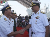three indian navy vessels danang visit reinforces traditional friendship