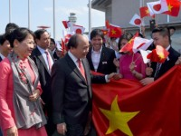 pm phuc begins official visit to japan