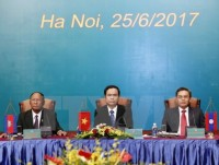 vietnam laos cambodia fronts ink agreement at third conference
