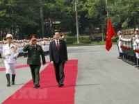 defence minister welcomes rok counterpart in hanoi