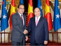 vietnam micronesia look to stronger cooperation