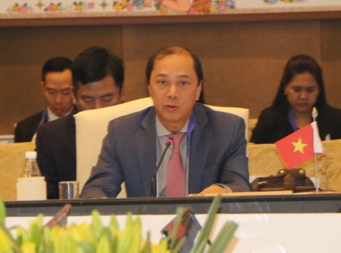asean chinese senior officials hold 24th consultation in singapore