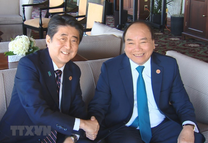 pm nguyen xuan phuc meets world leaders in canada