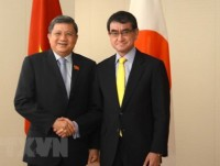 vietnam japan to bolster parliamentary ties promote cptpp