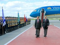 in photos president quang in russia