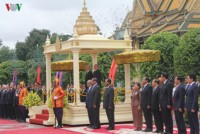 party chief sends thank you message to cambodian king