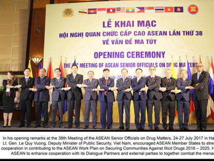 asean senior officials meeting on drug matters opens in hanoi