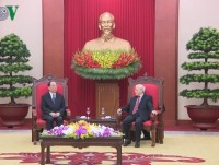 vietnam china reinforce ties between their parties