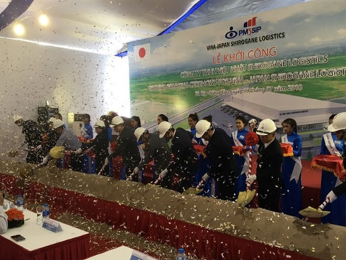 vietnam japan joint venure builds logistics centre