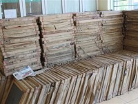 arrests for more than 500 boxes of ceramic tiles imported illegally from china