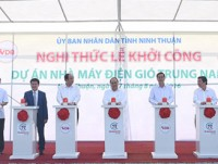 first wind power farm in ninh thuan gets go ahead