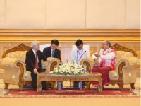 party leader parliamentary ties important to vietnam myanmar relations