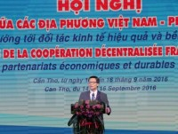 conference boosts partnership among vietnamese french localities