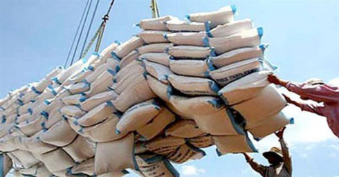 rice exports on sharp rise