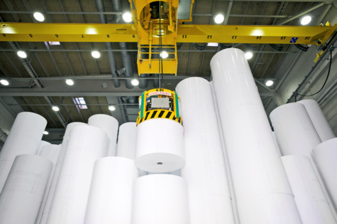 paper imports from us rise high