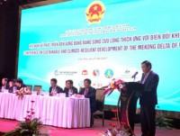 concerted efforts for climate resilient development of mekong delta
