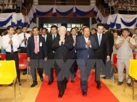 party leader highlights significance of vietnam laos ties