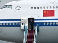 cpc general secretary and president xi jinping arrives in hanoi