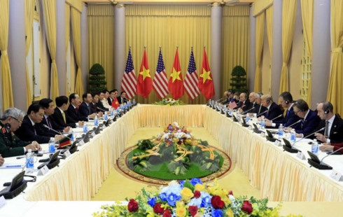 vietnam us sign cooperation agreements