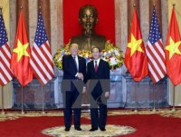 us white house issues statement on president trumps vietnam visit