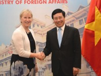 vietnam sweden agree to set up sectoral strategic partnerships