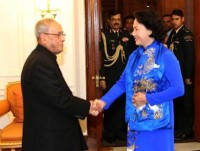 vietnam backs indias act east policy na chairwoman