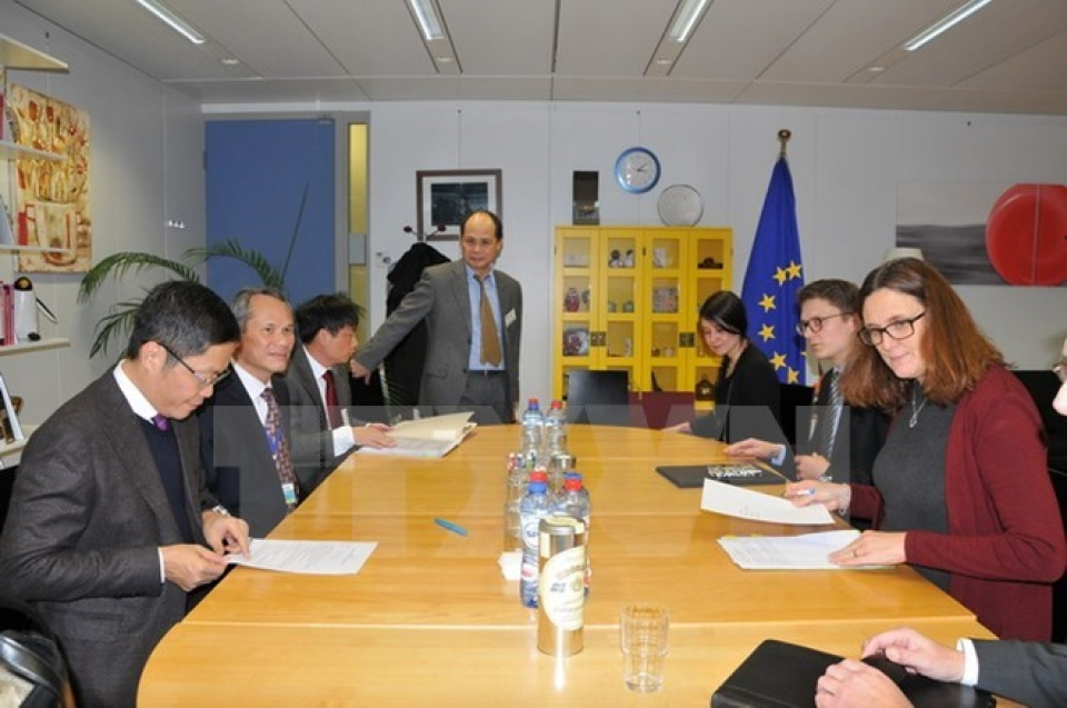 vietnam eu seek to accelerate fta signing